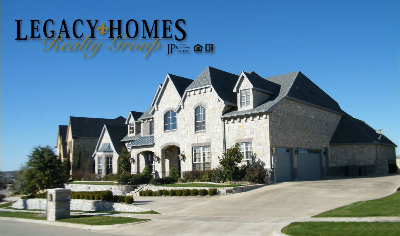 Legacy homes realty group brokered by jp associates for My custom home